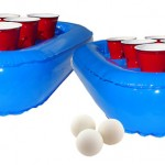 inflatable beer pong rack