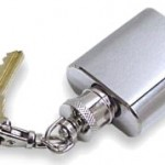 mini-flask-keychain