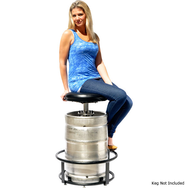 keg bar stool Beer Keg Bar Stool Kit