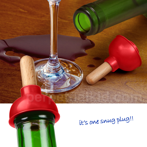 plunge bottle stopper Toilet Plunger Bottle Stopper