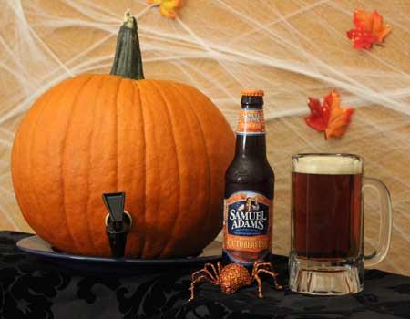 pumpkin keg DIY Pumpkin Keg
