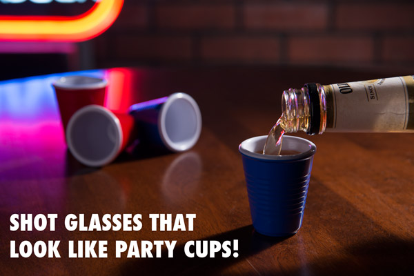 solo cup shot glass Mini Solo Cup Shot Glasses