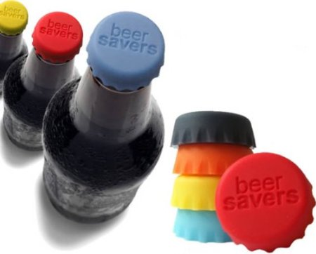 beer savers Beer Saver Reusable Silicone Bottle Caps