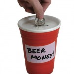 Red Cup Beer Money Bank